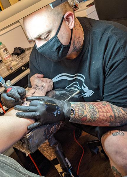 Jon Yagle Seattle Tattoo Artist at Good Times Tattoo