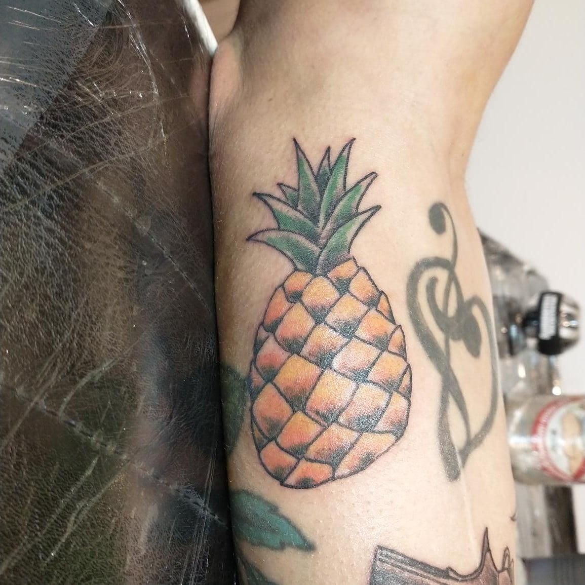 Pineapple Tattoo Design Good Times Tattoo Seattle
